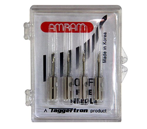 Needles Fabric Fine - Amram 400FP Fine Tagger Tagging Gun Replacement Needles- 4 Pack