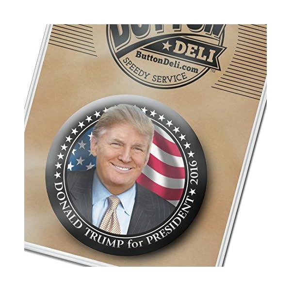 Donald-Trump-Photo-3-inch-Button-2016-By-Button-Deli-and-Marsh-Enterprises