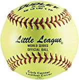 Dudley Little League SB Fast Pitch Leather Soft Ball - 12'' - packaged of 12