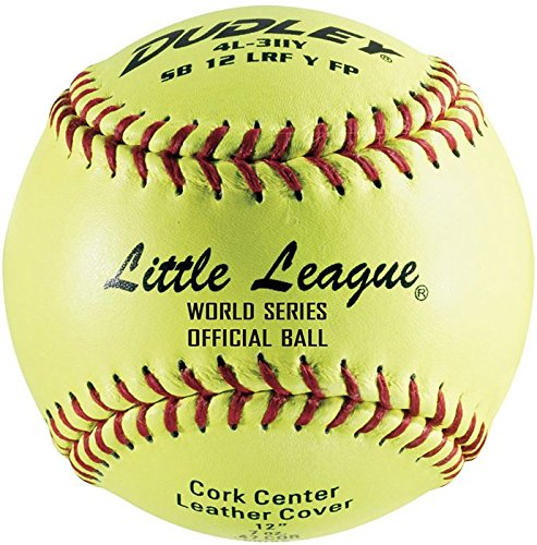 Dudley Little League SB Fast Pitch Leather Soft Ball - 12'' - packaged of 12 by Dudley