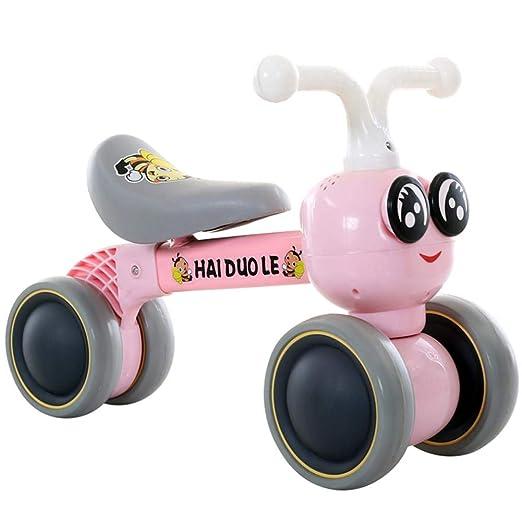 Jinclonder Bicicletas de Equilibrio para bebés Bicicleta, Caminante para niños 10 Meses -36 Meses Juguetes para 1 año de Edad Sin pedaleo Infantil 4 ...