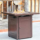 BestMassage Propane Fire Pit Patio Heaters Antique Hammered...