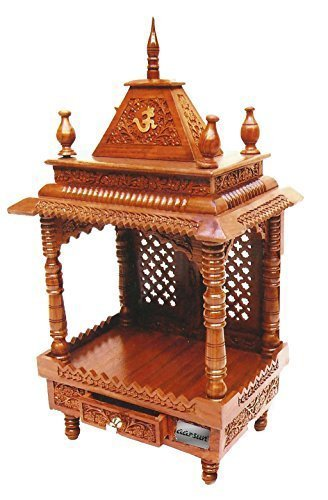 e6dedadcce5 Buy Aarsun Woods Wooden Temple Home Mandir Pooja Ghar for Home and Office  Online at Low Prices in India - Amazon.in