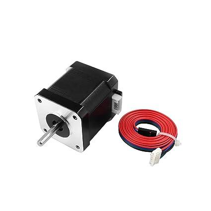 Aibecy Motor de impresora 3D 17HS8401S Motor paso a paso Diámetro ...