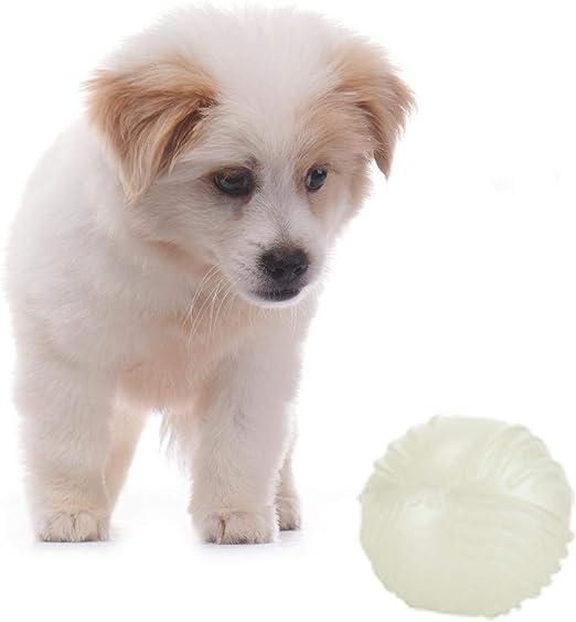 GZXHWWJ Juguete para Perros 1 Unids Cute Ball Glow In The Dark ...