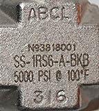 """3/8"""" Tube SS Angle Needle Valve"""