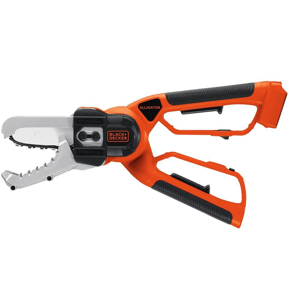 20-Volt Without Battery DECKER LLP120B Bare Max Lithium Ion Alligator Lopper Saw BLACK