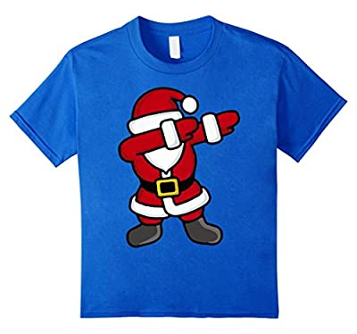 Dabbing Santa T-Shirt - Funny Santa Claus Gift For Christmas