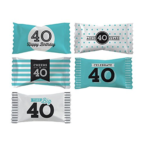 (Shindigz 40th Birthday Party Mints, Package of 50)