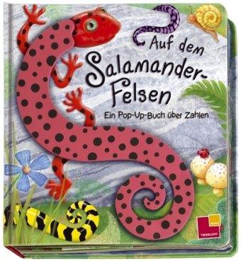Auf dem Salamander-Felsen. Pop-Up-Buch über Zahlen
