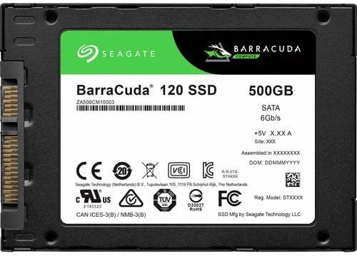 Seagate Barracuda 120 SSD 500Gb SATA 6Gb/s a Granel: Amazon.es ...