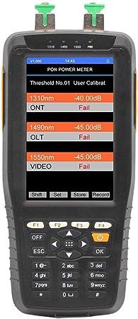 TM70B PON Optical Power Meter for EPON GPON xPON OLT-ONU 1310//1490//1550nm