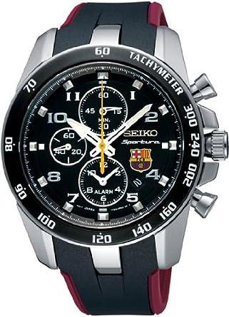 Amazon Seiko Sportura Fc Barcelona Logo Watch Snae93