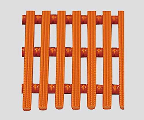 ミヅシマ工業3-5264-03耐薬スノコマットハードオレンジ B07BD3BX8L