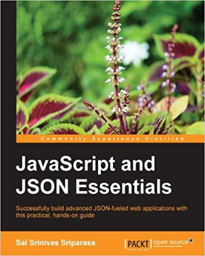 javascript and json essentials kindle edition
