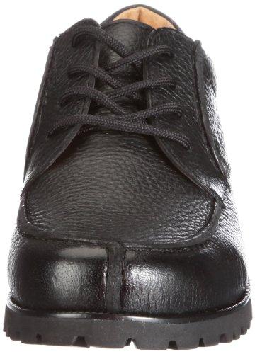 Ganter Gregor, Weite G 2-257320-01000 - Zapatos de cuero para hombre Negro