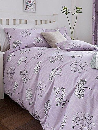tiffany floral bedding printed bed set lilac king - Liliac Bedding