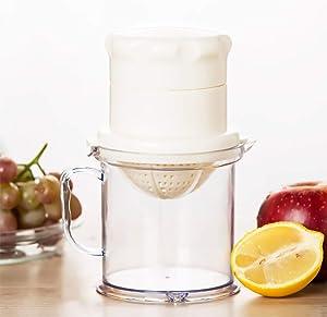 Citrus Juicer, Lemon Lime Orange Grapefruit Press, Hand Held, Manual Lemon Squeezer