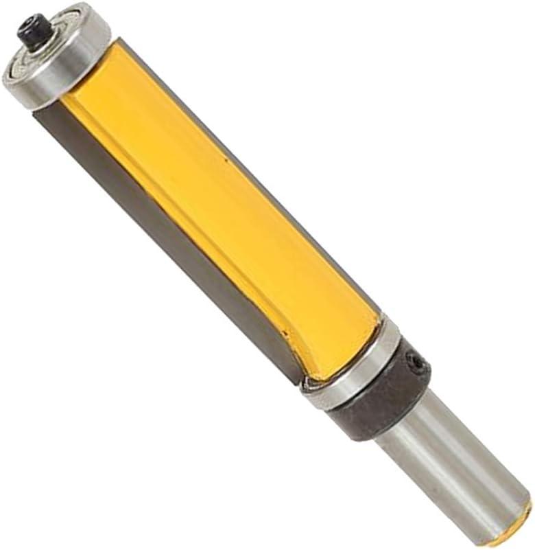 Holz Rounter Bit B/ündigfr/äser Holzbearbeitung Cutter Schaft 12,7mm