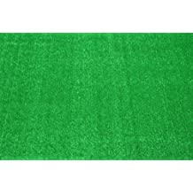 Indoor/Outdoor Carpet Green Artificial Grass Turf Area Rug 8' x 10'