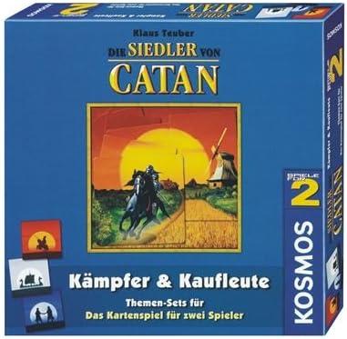 Die Siedler von Catan. Kämpfer und Kaufleute. Themen-Set zum Kartenspiel: Amazon.es: Juguetes y juegos