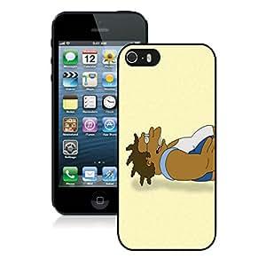 Popular Designed Case With Futurama Hermes Conrad Cover Case For iPhone 5S Black Phone Case CR-228