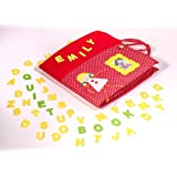 Oro Toys Creative and skills Baby quiet book for girls