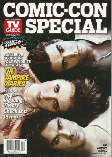 TV Guide Magazine Comic-Con Special with cast of Vampire Diaries on the cover July 2011 from Vampire Diaries
