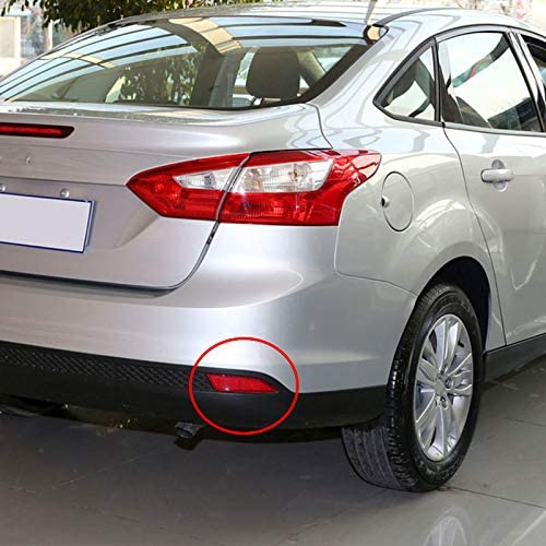Stop-eastar 1 pair Red Right Rear Bumper Reflector Fit For Ford Focus 2012-2015 BM51515BOAE