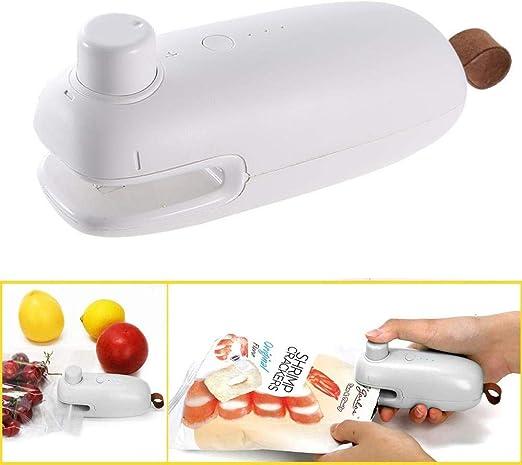 Mini M/áquina de Sellado de Bolsas para el Hogar Bolsa de Mano Selladora de Bolsas de Refrigerios Selladora de Calor Selladora de Alimentos