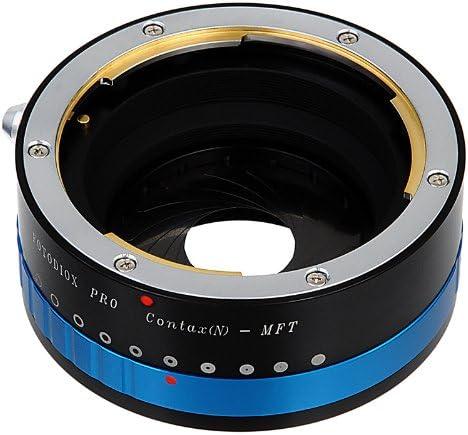 Camera Body with Iris Contax N Lens to Micro Four Thirds DMC-GH1 Fotodiox Pro Lens Mount Adapter DMC-GF1 for Olympus Pen E-P1 /& Panasonic Lumix DMC-G1 M 4//3, MFT