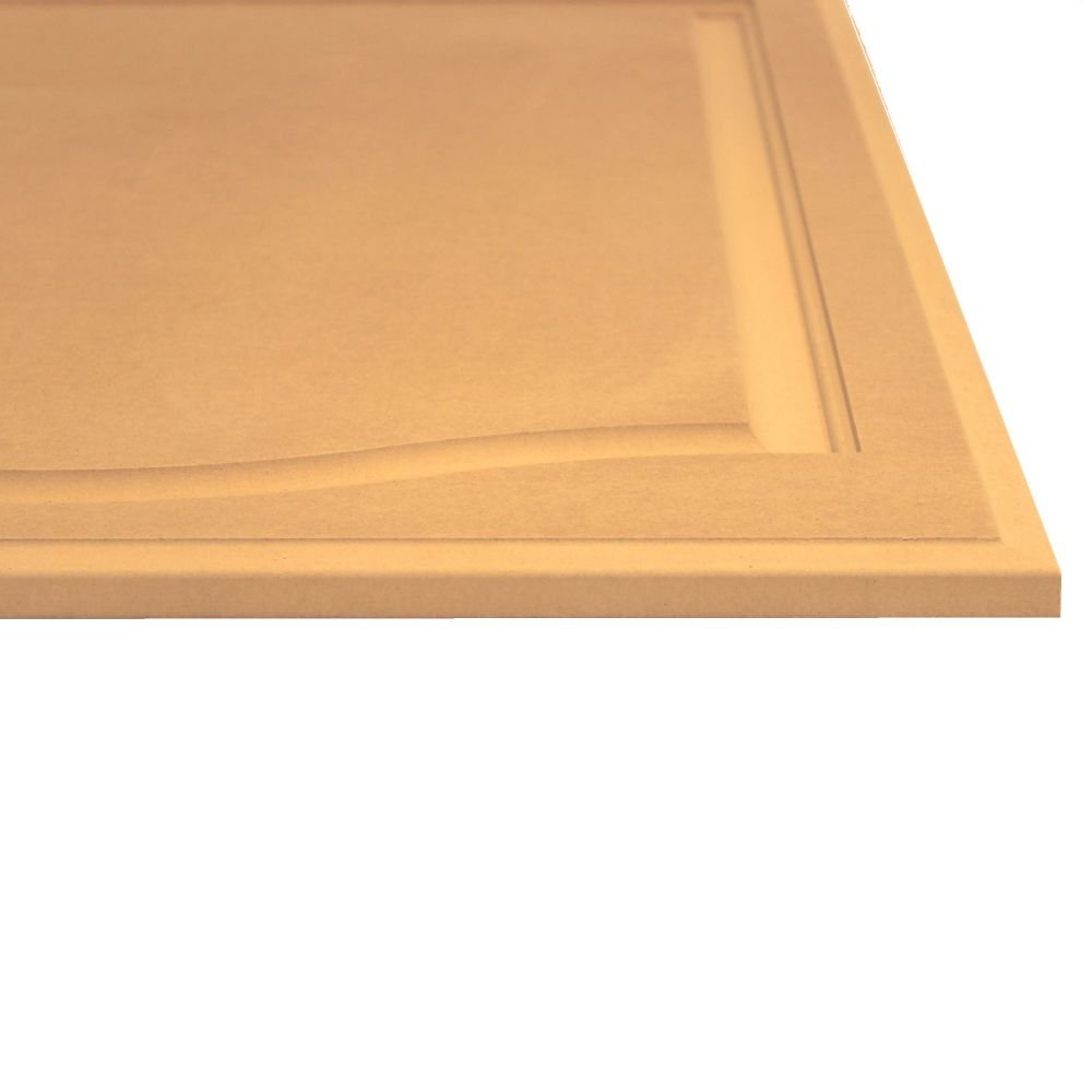 21 High x 16 Wide Unfinished Arch Top Cabinet Door in MDF by Kendor