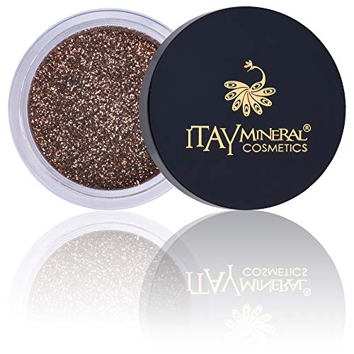 (Itay Mineral Cosmetics Eye Shadows Sparkle Glitter (G21- GOLDEN BROWN))