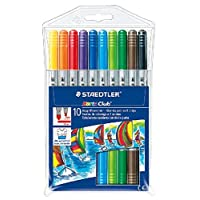 Staedtler Noris Club Double Ended Fibre Tips (Pack of 10) 320NWP10