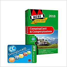 Amazon.com: ACSI CampingCard & Camperplaatsen 2018 (ACSI ...