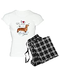 CafePress Women's Light Pajamas - Dachshund Women's Light Pajamas