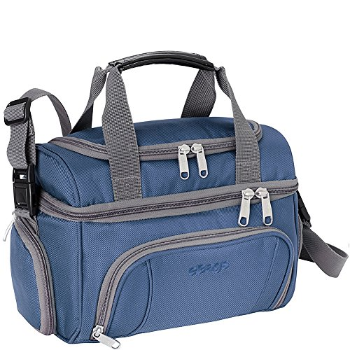 eBags Crew Cooler JR. - Soft Sided Insulated Lunchbox - For Work, Travel & Weekends - (Blue Yonder)