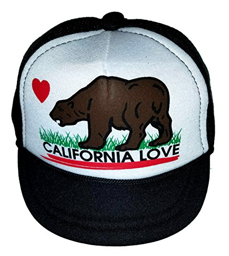 California Love Baby Infant Blank Mesh Trucker Hat Cap Newborn Snapback