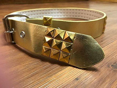 Gold studded belt 37