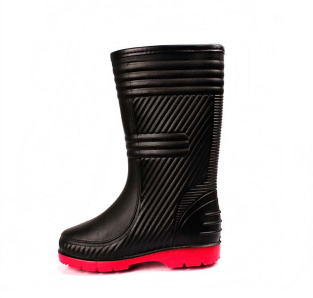 Regen Stiefel Wasser Männer Rohr Stiefel Verdickt Wasser Stiefel Schuhe Rutschfeste Verschleißfeste Abdeckung Schuhe Gummischuhe - 8b6a4a