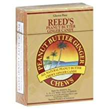 Reed'S Peanut Butter Ginger Chews 2 Oz (Pack of 20)