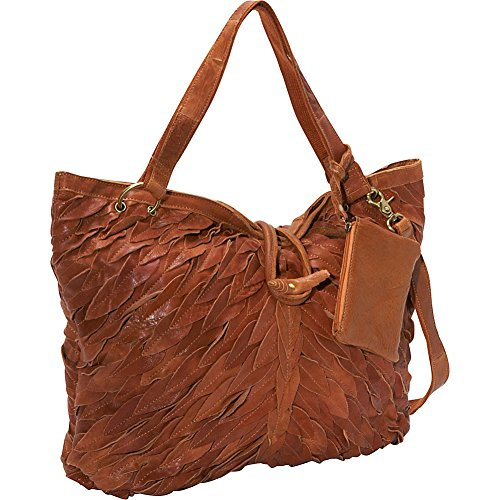 AmeriLeather Sana Tote (Saddle Brown)