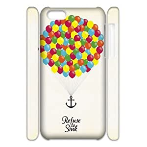 MMZ DIY PHONE CASEI Refuse To Sink 3D-Printed ZLB553060 Customized 3D Phone Case for iphone 5/5s