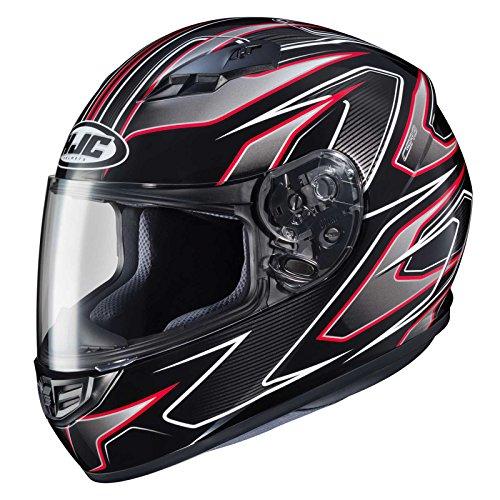 HJC CS-R3 Spike Electric Mens Snowmobile Helmets - Red - X-Large ()