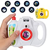 Gbell Projection Camera Toy Kids, Cute Simulation Digital Camera Children Educational Gift Toys for...