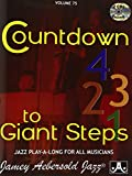 Vol. 75, Countdown To Giant Steps (Book & CD Set)