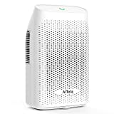 Afloia Electric Home Dehumidifier, Protable Mini Dehumidifier for Home 2200 Cubic Feet Ultra Quiet Dehumidifiers for Bathroom Home Bedroom Kitchen Basement Office Garage Caravan