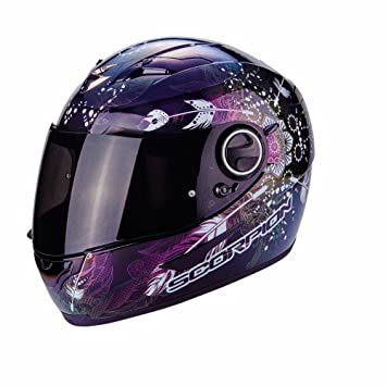 Scorpion - Casco de moto EXO-490 Dream, color blanco/camaleón, talla