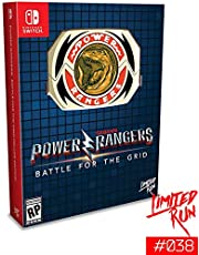 Switch Limited Run #38: Power Rangers: Battle for the Grid Mega Edition