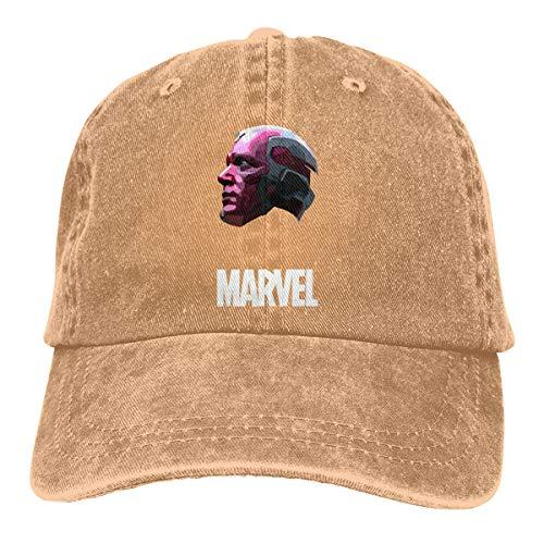 Hengteng Customized Print Casual Dad Hat Avengers Vision Cool Baseball Caps